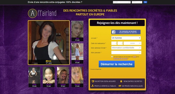 Avis AffairLand site coquin