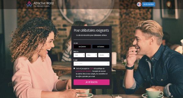 Avis Attractive World - Site de rencontre sérieux
