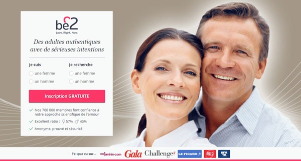 Avis Be2 seniors site de rencontre seniors