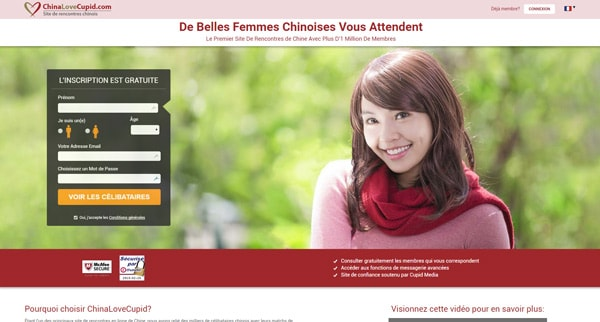 Avis ChinaLoveCupid site de rencontres asiatique