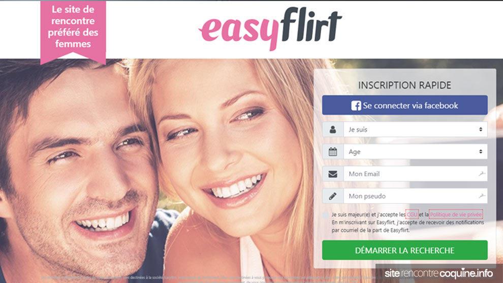 Avis Easyflirt site de rencontres