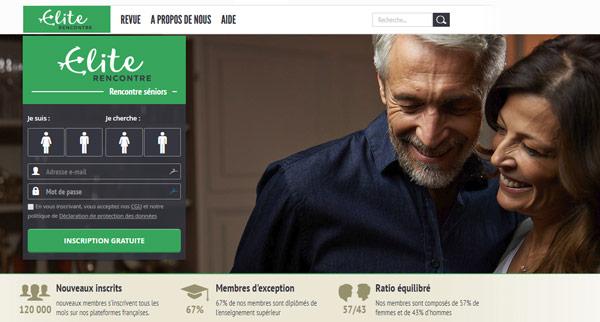 Avis Elite Rencontre site de rencontres seniors