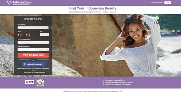 Avis Indonesian Cupid site de rencontres indonesien