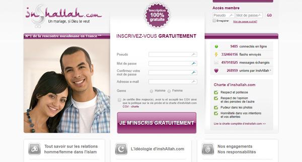 Avis site de rencontres InShallah