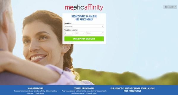 Avis Meetic Affinity - Site de rencontre sérieux