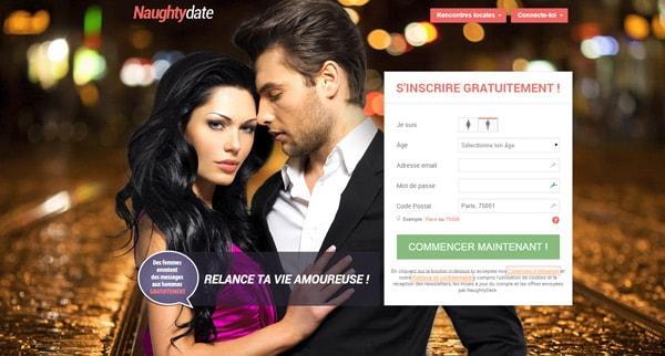 Avis Naughty Date site de rencontre coquin
