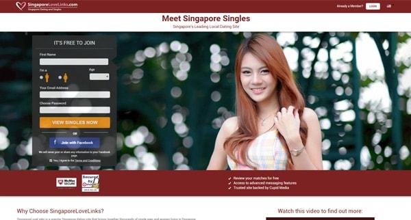 Avis sur Singapore Love Links site de rencontre asiatique pour trouver des femmes singapouriennes