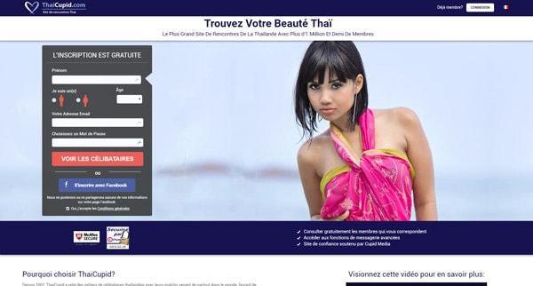 Avis ThaiCupid site de rencontre asiatiques