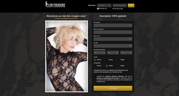 Avis site de rencontre Club Cougar