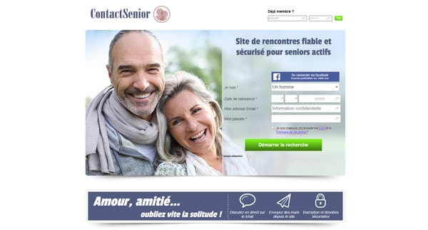 Avis site de rencontre Senior Contact