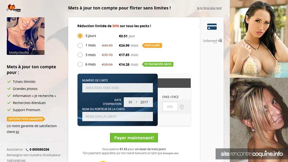 tarifs et prix des abonnements Becoquin