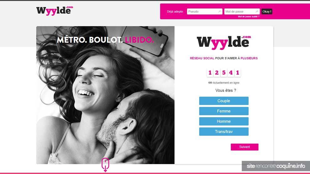 Wyylde et netechangisme site rencontre pour couples